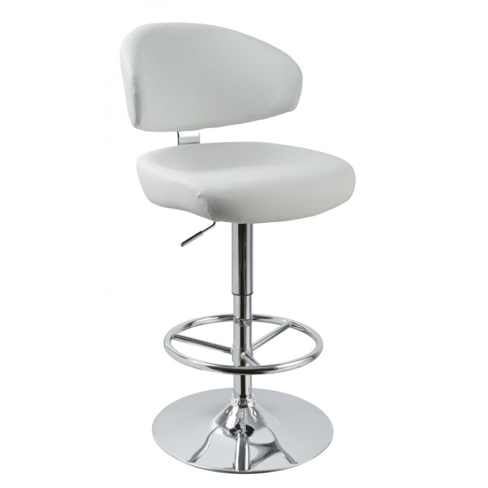 Modrest T1034 - Eco-Leather Contemporary Barstool