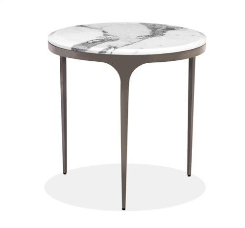 Camilla Side Table - Arabescato
