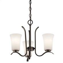Armida 3 Light Mini Chandelier with LED Bulbs Olde Bronze®