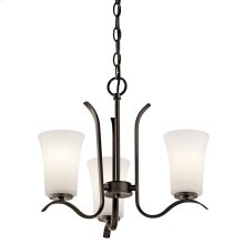 Armida 3 Light Mini Chandelier with LED Bulbs Olde Bronze®