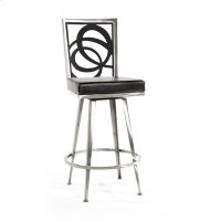 Luca Swivel Barstool, Solo Product Image