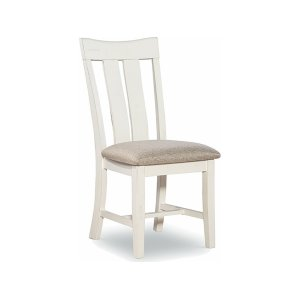 JOHN THOMAS FURNITUREChair available also with wood seat.