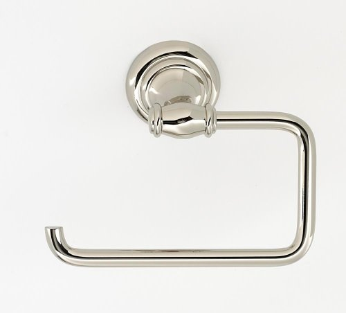 Charlie's Collection Single Post Tissue Holder A6766 - Polished Nickel