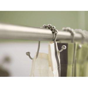 Moen Brushed Nickel Shower Curtain Rings