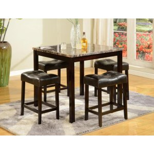 Crown Mark 2773 Kinsey Counter Height Dining Group