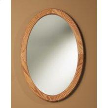 Single-Door Recessed Cabinets - Oak