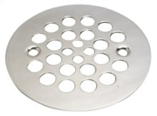 "4-1/4"" Round Shower Grid - ""Plastic Oddities"" - Antique Brass"