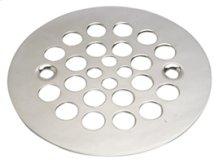 """4-1/4"""" Round Shower Grid - """"Plastic Oddities"""" - Antique Brass"""