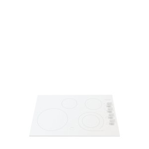 Gallery 30'' Electric Cooktop - WHITE