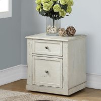 Hilton 2 Drawer Rolling File Cabinet Product Image