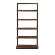 Ladder Shelf In Black