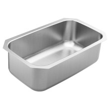 1800 Series 30.25 x 18.25 stainless steel 18 gauge single bowl sink