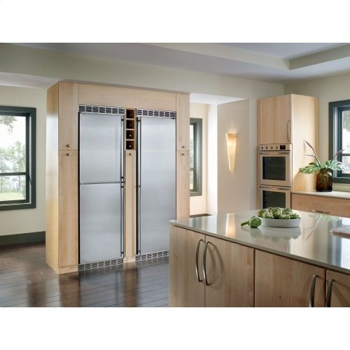 "24"" Built-in All Refrigerator Stainless Door right hinge"