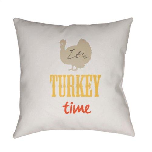 "It's Turkey Time TME-001 20"" x 20"""