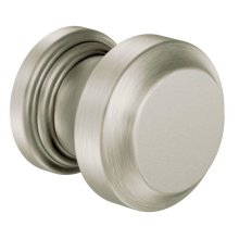 Rothbury brushed nickel drawer knob