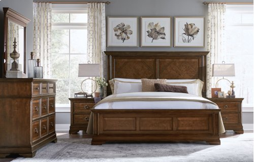 Latham Panel Bed, King 6/6