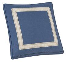 "Decorative Pillows Box Border Picture Frame Tape (21"" x 21"")"