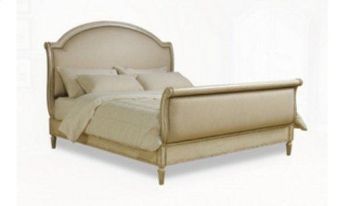 Provenance Eastern King Upholstery Sleigh Bed - Linen
