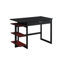 Sleek and simple come together to form this contemporary style office desk....
