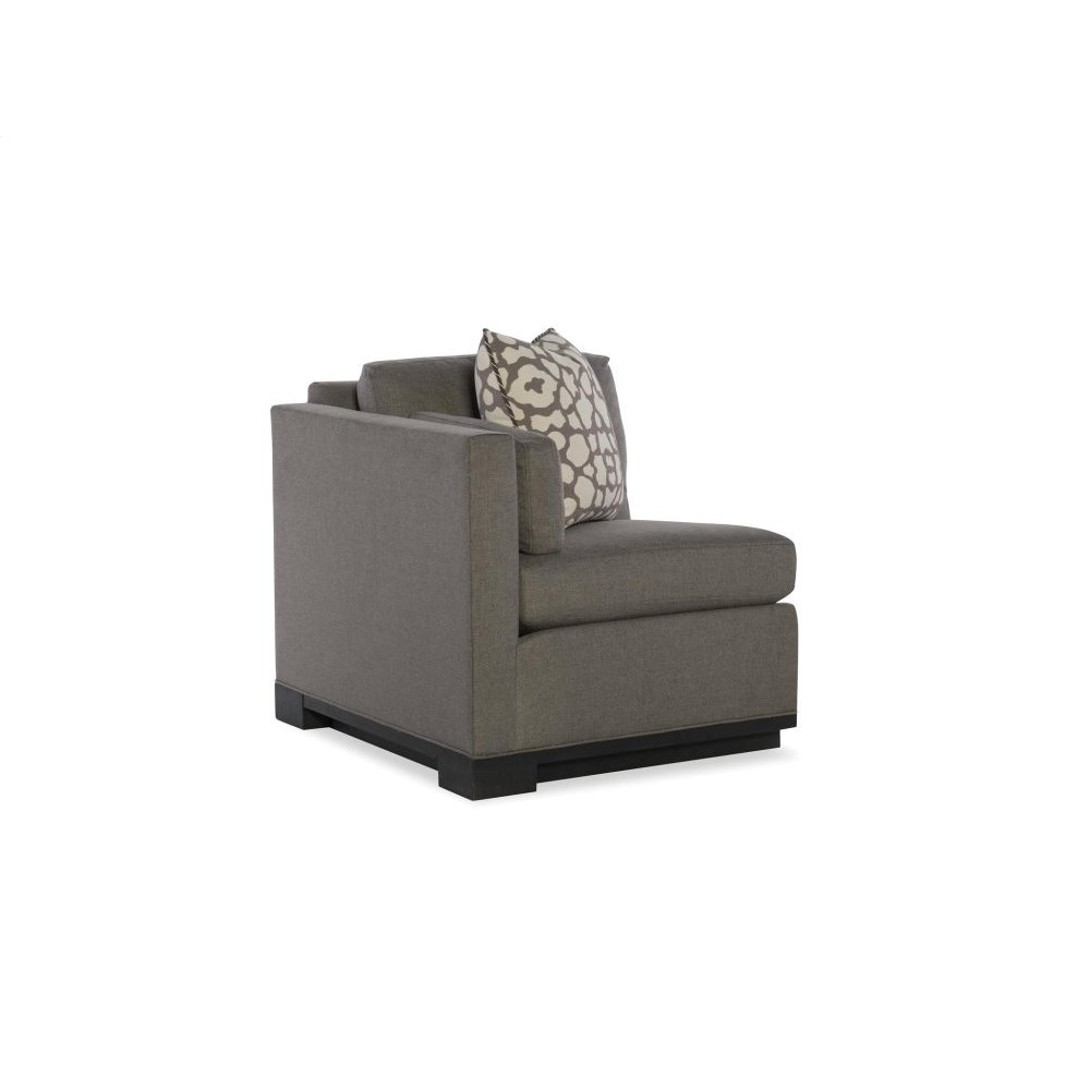Left Arm Sectional Leather Chair