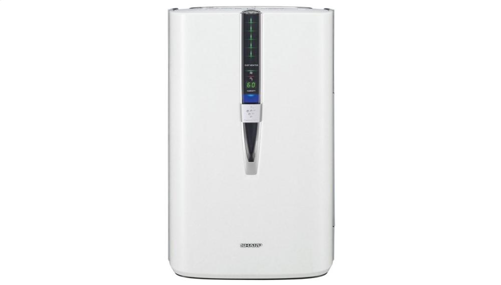 Sharp Plasmacluster(R) Air Purifier with Humidifying Function for Large Rooms