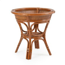 Round Rattan Dining Table Base 3550