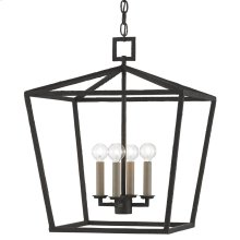 Denison Black Medium Lantern