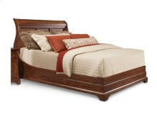 Retreat Cherry Sleigh Bed