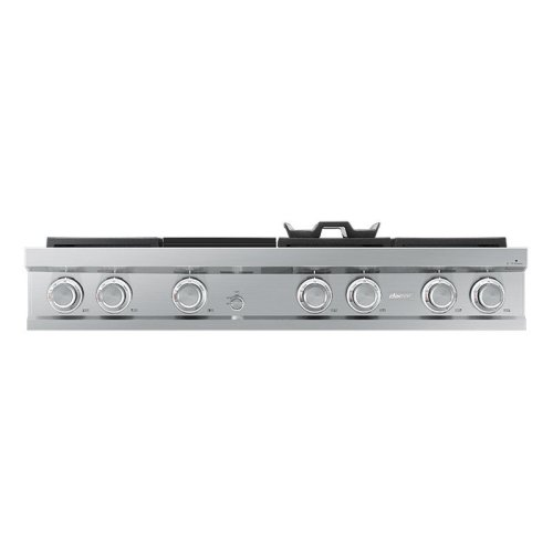 "Modernist 48"" Rangetop, Graphite, High Altitude Natural Gas"