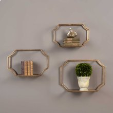 Lindee Wall Shelves, S/3