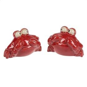 Crab Salt & Pepper set/2.