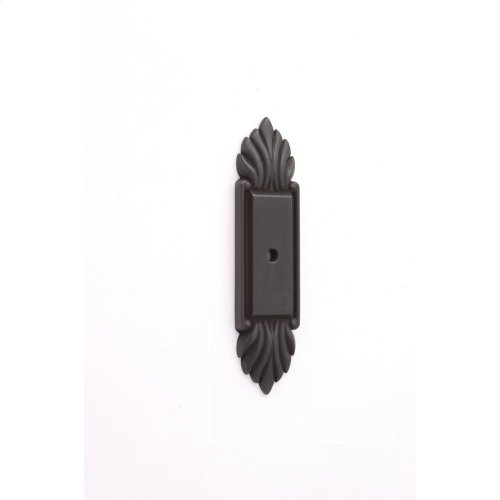 Fiore Backplate A1475 - Bronze
