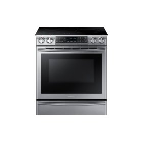 NE58K9560WS Induction Range with Virtual Flame Technology , 5.8 cu.ft