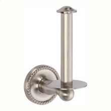 Satin Nickel Spare Toilet Tissue Holder