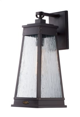 Schooner 1-Light Outdoor Sconce
