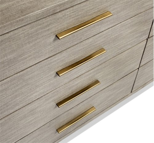 Alma 8 Drawer Chest - Taupe