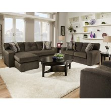 5100 - Hematite Gray Sofa Chaise