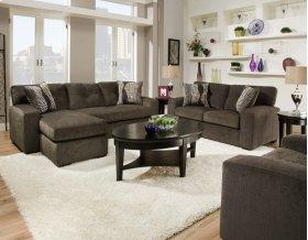 5100 - Hematite Gray Sofa