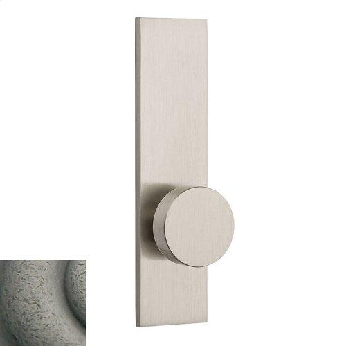 Distressed Antique Nickel Contemporary K010 Knob Screen Door