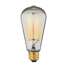 1-Light Filament Bulb