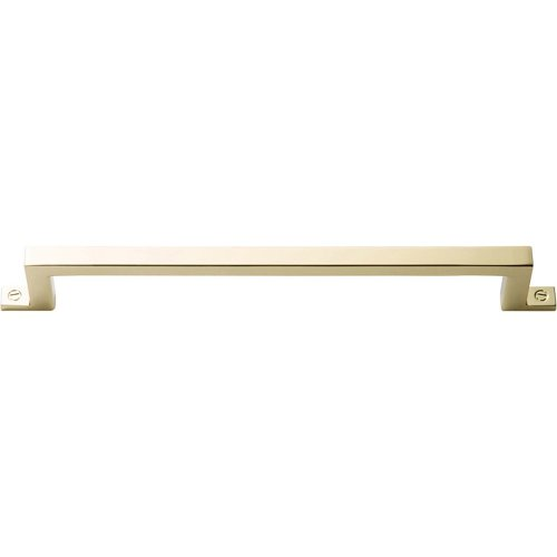 Campaign Bar Pull 6 5/16 Inch - Polished Brass