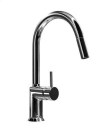 Single-hole sink mixer