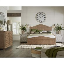Madison - Queen/king Bed Rails - Caramel Finish