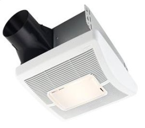 InVent Series 70 CFM 2.0 Sones Lighted Finish Pack with White Grille