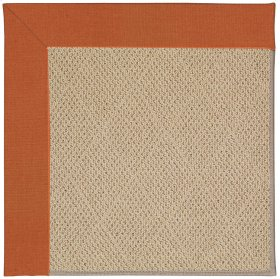 Creative Concepts-Cane Wicker Canvas Rust