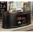 Rowan Traditional Black and Espresso Desk Product Image
