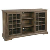 Sliding Door Entertainment Center Product Image