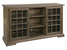 Sliding Door Entertainment Center