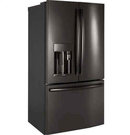 GE Profile Series ENERGY STAR® 22.2 Cu. Ft. Counter-Depth French-Door Refrigerator with Keurig® K-Cup® Brewing System