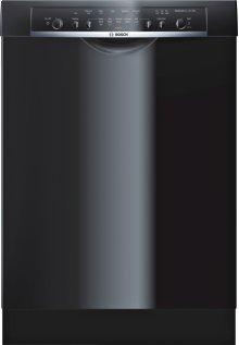 "24"" DLX Recessed Handle Dishwasher Ascenta- Black SHE3ARL6UC"